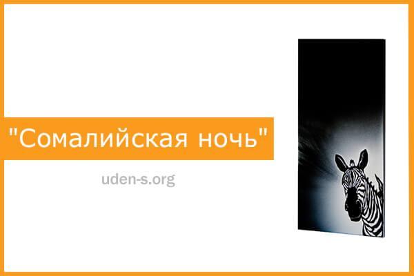 """Изображение дизайн-обогреватель """"Сомалийская ночь"""""""